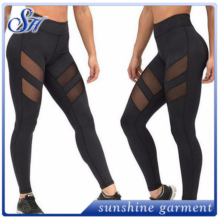 Yoga <strong>Sports</strong> Leggings For Woman <strong>Sports</strong> Tight Mesh Yoga Leggings Comprehension Yoga Pants Women Running Tights Women