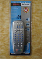 Universal remote control for TV/VCR/AUX/DVD player for popular brands RCU403