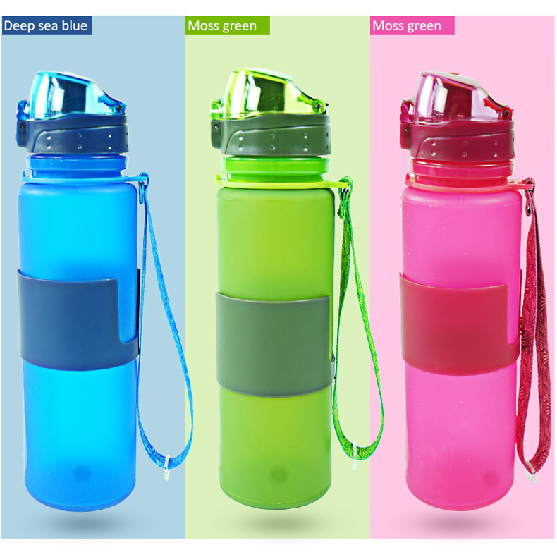 Different Types of Sports Water Bottles