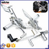 ARS-CBR1000-08 Highly Recommended CNC Billet Racing Bracket Motorcycle Footpegs For Honda CBR1000RR 2008-2014