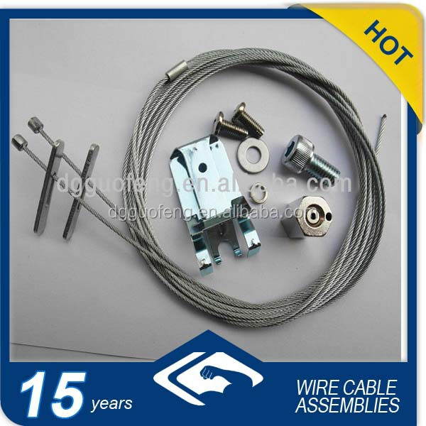 Steel Wire Suspension Lighting Cable With Accessories - Buy Steel ...