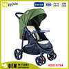 New design chinese Aluminum Stroller 3 In 1 Softtextile Stroller Baby