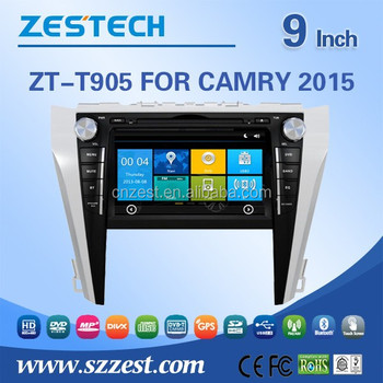 Automobiles Car Gps Maps Download 9 Inch Touch Screen 800*480 Gps Tv Sd Car  Dvd Player For Toyota Camry 2015 - Buy Car Dvd Player For Toyota Camry,Dvd