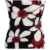 New fashion sexy sling strapless dress high waist printed stretch pencil skirt