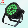 Professional par led 18x10w 5in1 rgbwa stage lighting control with DMX512