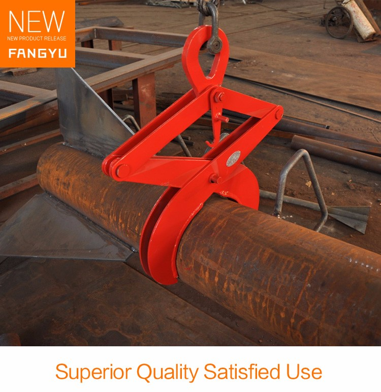Round Stock Grab Steel Plate Clamp Lifting Clamps