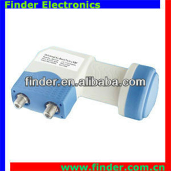 factory price twin ku band with strong signal lnb/lnbf