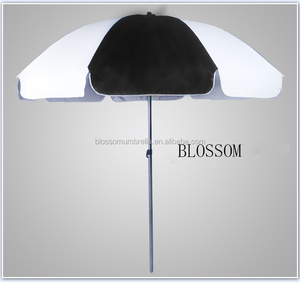 beach sun protection umbrella beach umbrellas black and white sun parasol