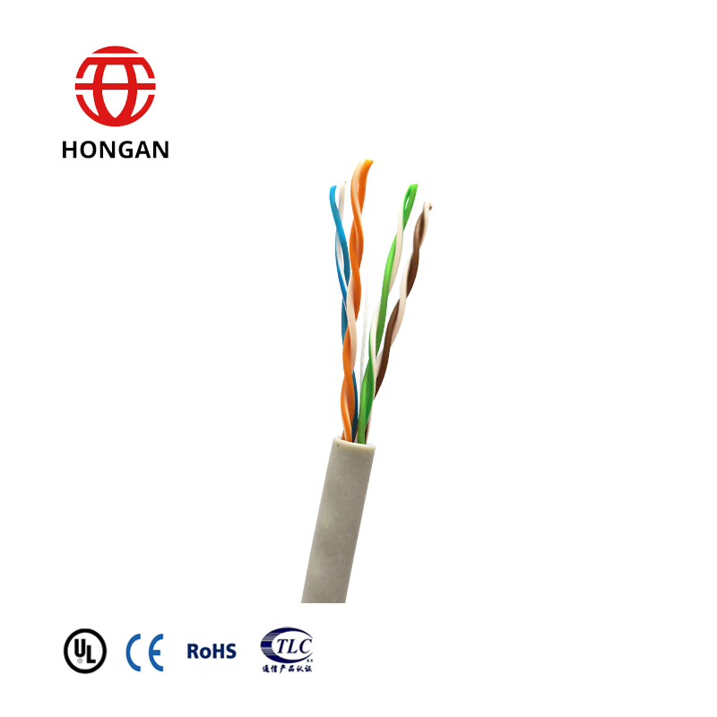 24 AWG UTP cat5e patch cord cable  FTP LAN cable CAT 5E