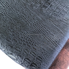 low price new design warp knitting techinal polyester material soft textile suede fabric