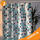 "home decoration bathroom accessory 72x72"" Polyester Shower Curtains"