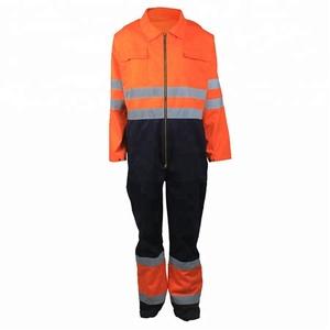 ee2169ce47a4 custom logo work wear sets unisex work clothing FR bib overall fire  retardant clothing flame resistant