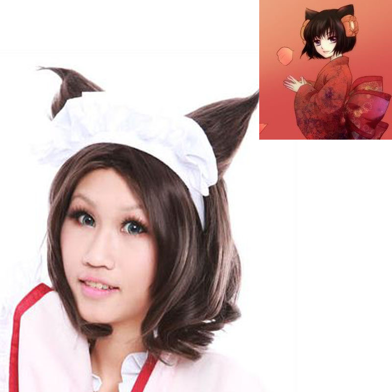 Free shipping>>>Excellent  top quality Otome Youkai Zakuro-Michael Jackso cosplay wig heat resistant fiber synthetic