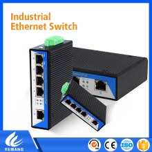 Yuhang communication 5 ports industrial Extender switch hub For Ip solution