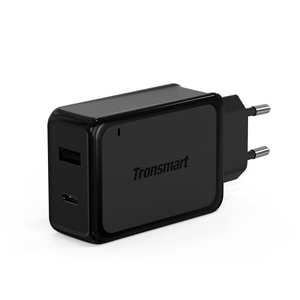 Tronsmart W2PTE QC3.0 With USB Type C Charger Intelligent USB Charger With USB VoltiQ For Iphone 7 LG G5 Fast Phone Charger