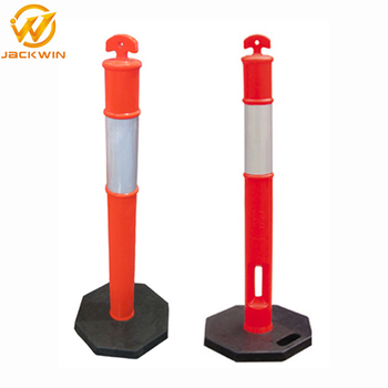 T-top Temporary Parking Barrier Post Security Bollards Heavy Duty Rubber  Case - Buy Barrier Post,Security Bollards,Parking Bollards Product on