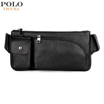 88aad2f1f2be Викуньи поло товары Мужская сумка Повседневная Спортивная мужская сумка  брендовая кожаная мужская сумка через плечо поясная
