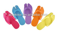Factory price!!! EVA foam disposable flip flops slippers and sandals pedicure slipper for hotel/SPA/SALON