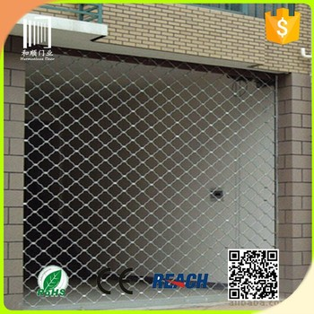Roll Up Storm Shutters Of Wire Mesh Door With Rolling Security Shutters
