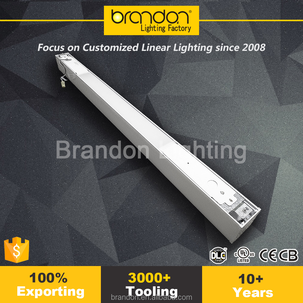 Led up and down linear light direct indirect led lighting fixtures recessed linear lighting
