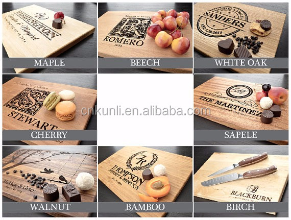 Small Round Wooden Chopping Board