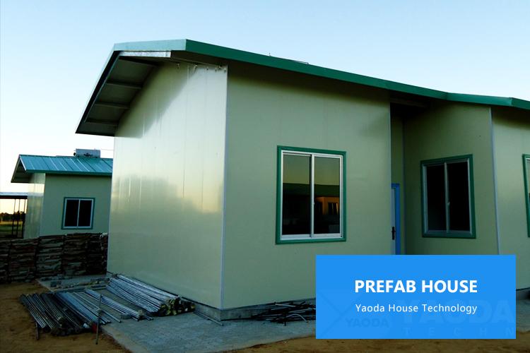 จีนประหยัดด่วนสร้างก่อสร้างสำเร็จรูปModular P Ortaห้องโดยสารบ้านพายุเฮอริเคนหลักฐานPre fabบ้าน
