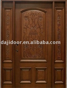 European style exterior doors with carving dj s8717mst for European exterior doors