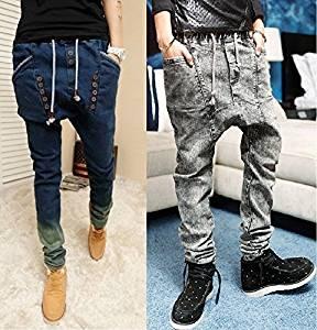 Pivaconis Boys Winter Thicken Pocket Fleece Lined Hip Hop Jogger Pants