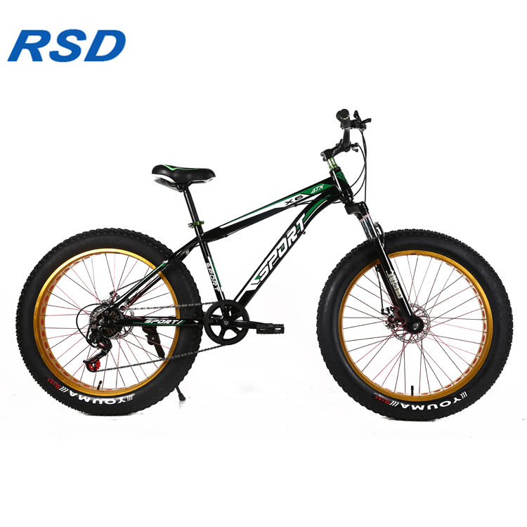 "CE standard 20"" 24'' 26'' fat bicycle snow mountain a bike 7 /21/24/27 speed fat bike tire bicicleta"