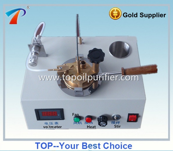 Pensky-Martens Method Oil Closed Cup Flash Point Tester/Petroleum Product Lab Analysis Equipment