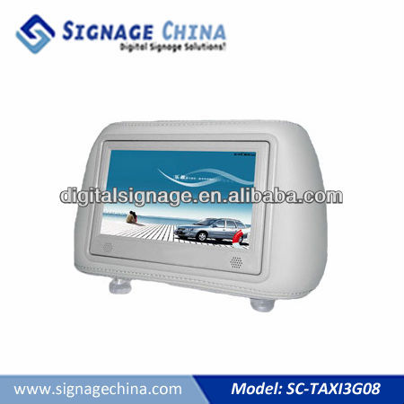 "8"" LCD Video Screen Taxi Advertising"