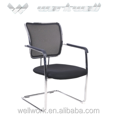 WorkWell mesh backrest meeting room chair with metal frame Kw-f6109v