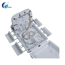 feitian FTTH indoor Fiber Optic Distribution Box ip65 PLC1/8*3 24 port odf price