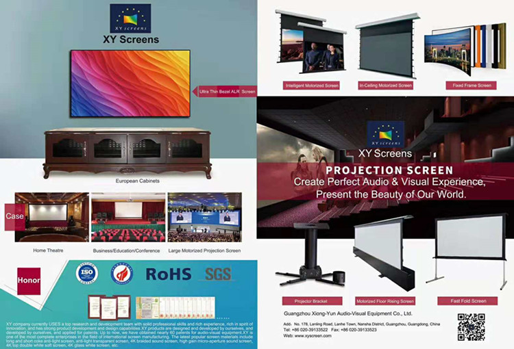 Holographic Projection Screen Transparent Holographic Film and Light Grey Holographic Film for Advertising
