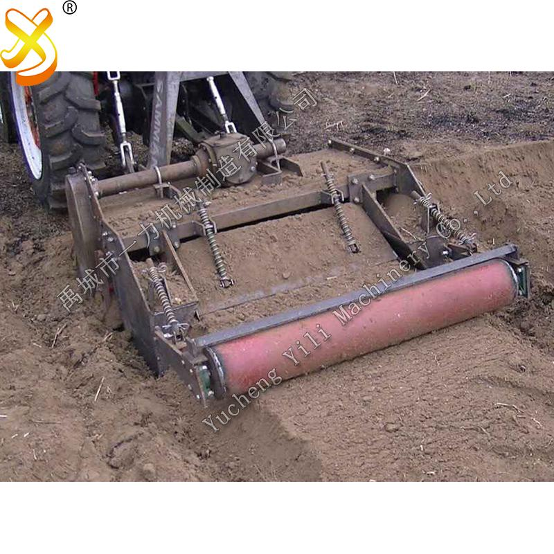 bed former seedbed shaper rotary tiller with ridging machine