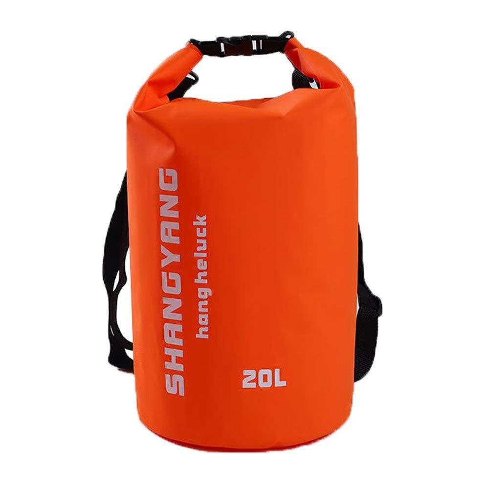 Waterproof Dry Bag 20l Sailing Bags Waterproof Rafting Gear Waterproof Roll Top Bag Sailing Dry Bag 20l Water Bag Dry Bag With Shoulder Straps Floating Dry Sack Roll-Top Dry Bag Camping Gear Dry Bag