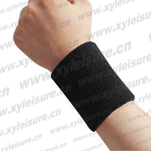Hot sales custom arm wrist sweatband