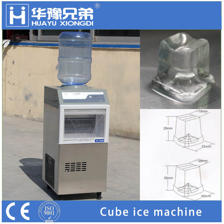 IB50C 50pounds bottled water ice maker