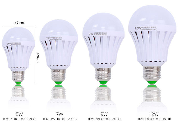 Smartly Light On 6-8 Hours Lighting B22 E27 Led Bulb 9watt ...