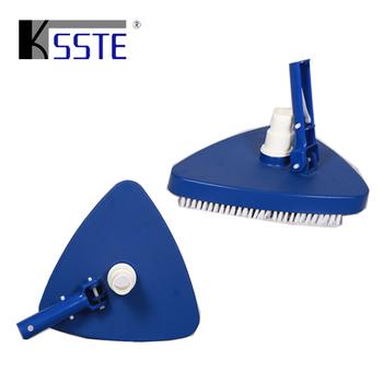 Pool Accessories Triangle Vacuum Brush Head Pool Vacuum Cleaner For ...