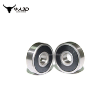 Steel Deep Groove 625-2RS Ball Bearing For 3D Printer