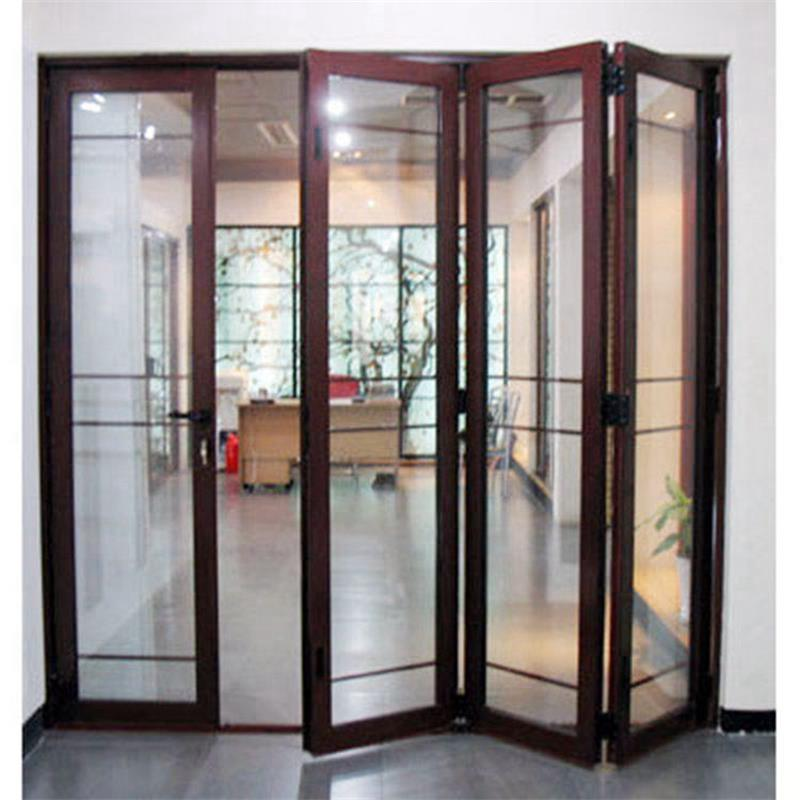 Bifold Sliding Tempered Glass Window and Door/Frameless Glass Entrance Door Price