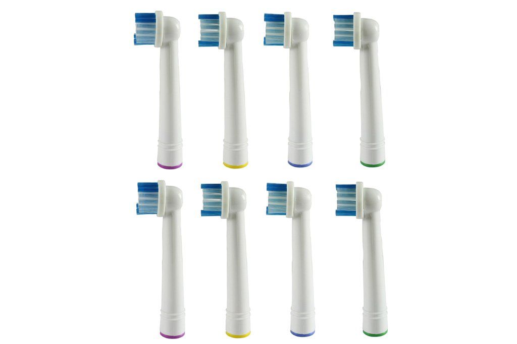 8 Count Generic Oral B Oral Braun Compatible Replacement Brush Heads for Oral  B  7a732e944848