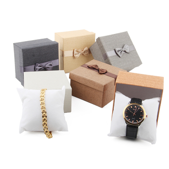 Jewellery wrist watch box simple style jewellery storage