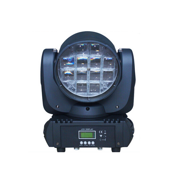 12*10W RGBW 4 IN 1 LED Zoom Moving Head Light/ Moving Head Zoom LED Stage Equipments
