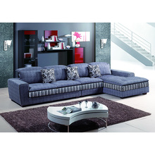 Popular Lifestyle Living Nice Grey Color Sofas Neck Pillow Fabric Modular Solid Wood Legs Hall Sofa Sets Shenzhen Furniture