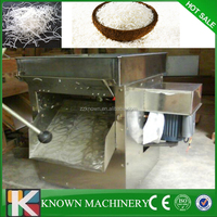 Highly efficient evenly rounded silk fruit vegetable cutting shredding machine/coconut meat cutters