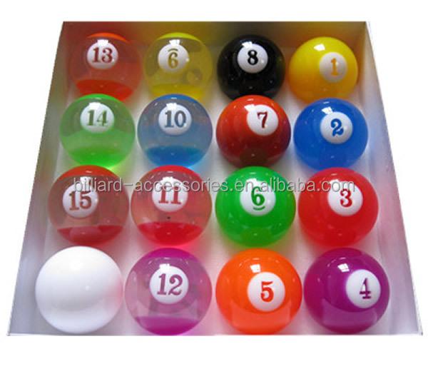 Fashion Colorful Transparent Custom Billiards Pool Balls Buy Pool Ball Billiards Ball Transparent Balls Product On Alibaba Com