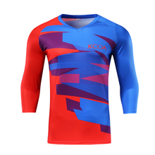 100% Polyester Motorfiets Motocross Custom MTB Jersey Lange Mouw <span class=keywords><strong>DH</strong></span> Downhill Fiets Jersey
