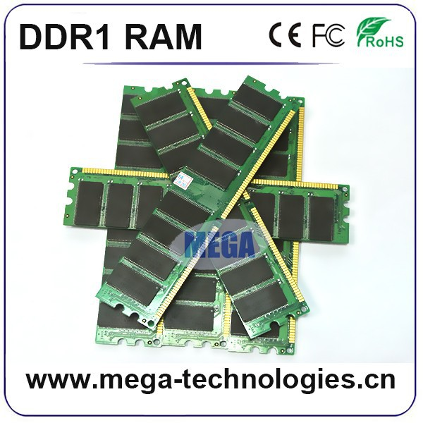 Desktop RAM DDR 1GB PC3200 400MHz DIMM 184 PIN/ AMD